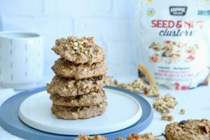 Vegan cookies, gluten free, chickpea cookies