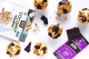 Zazubean Hippie Snacks Vegan muffins